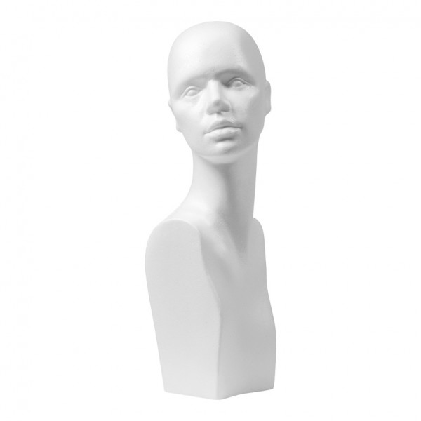 "Damenkopf ""Ira"", 34x56cm, Styropor"