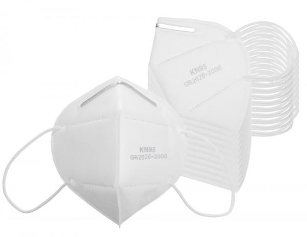 Atemschutzmaske FFP2 / KN95 - Mundschutz - 10 Stück