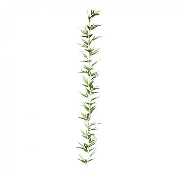 Bambusgirlande, Ø 28cm, 180cm, 44-fach, Kunstseide