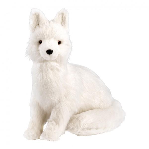 Fuchs, sitzend, 45x43cm, Styrofoam mit Kunstpelz