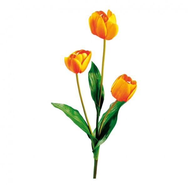 Tulpe, 105cm, 3-fach, Kunstseide