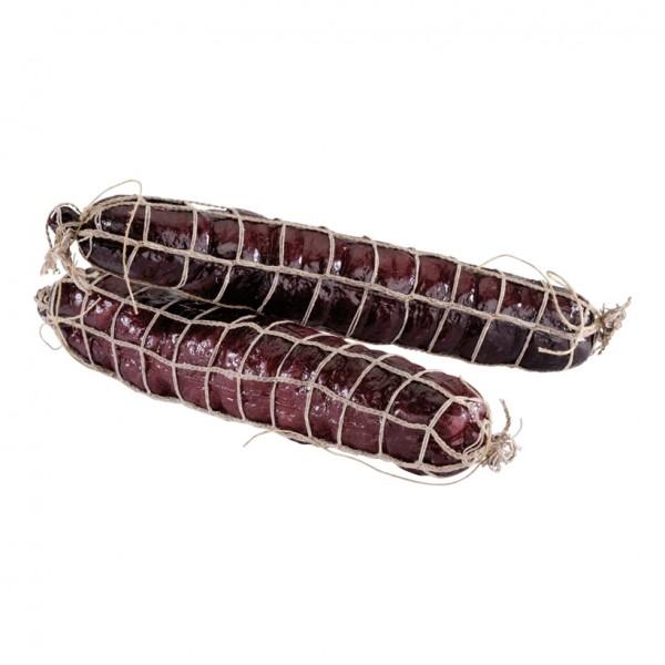 Salami, Ø 5cm, 25cm, 2Stck./Btl., im Netz, Kunststoff
