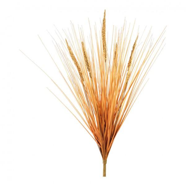 Schilfgrasstrauß, 60cm, 5-fach, Kunststoff