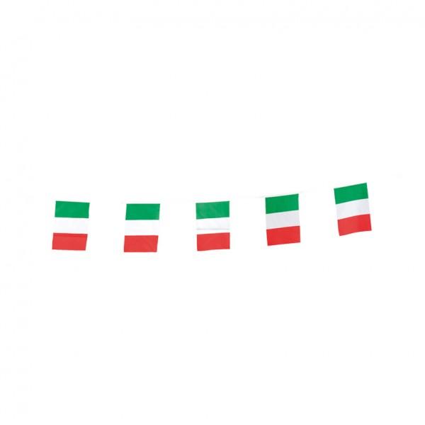 Fahnenkette, Fahne: 15x23cm, 5m, 15-fach, Kunstseide