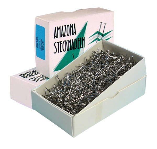 Deko-Stahl-Stecknadel -Amazona-