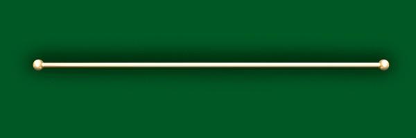 Dekostange 'Suspension Tube' - 6 Stück