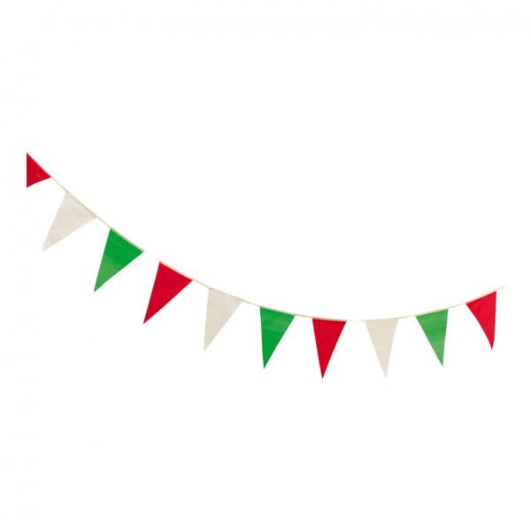 """Wimpelkette """"Italien"""", 400cm, 16-fach, wetterfest, PVC"""