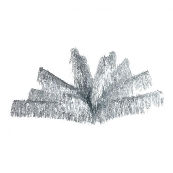 Lamettafontäne, Ø 70cm, 100cm, Feinschnitt, Metallfolie