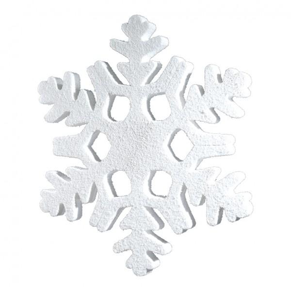 Schneeflocke, 100x84cm, Styrofoam