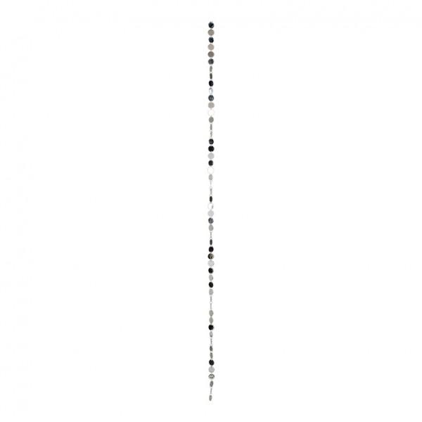 Plättchenkette, Ø 3cm, 180cm, Kunststoff