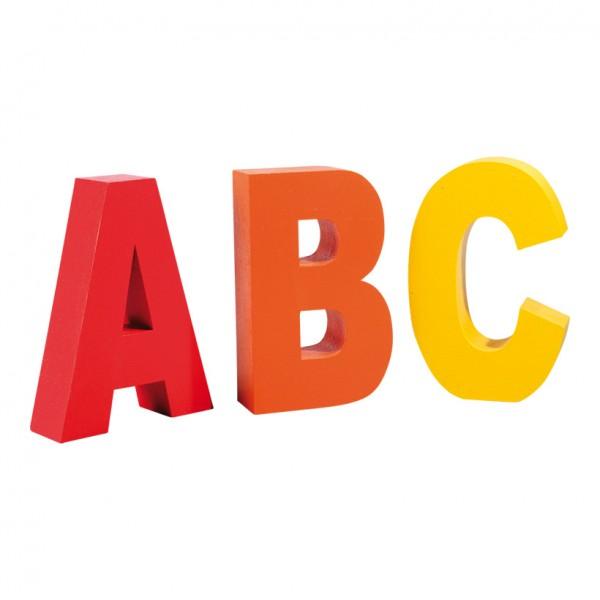 Buchstaben ABC, 50x30cm Styropor