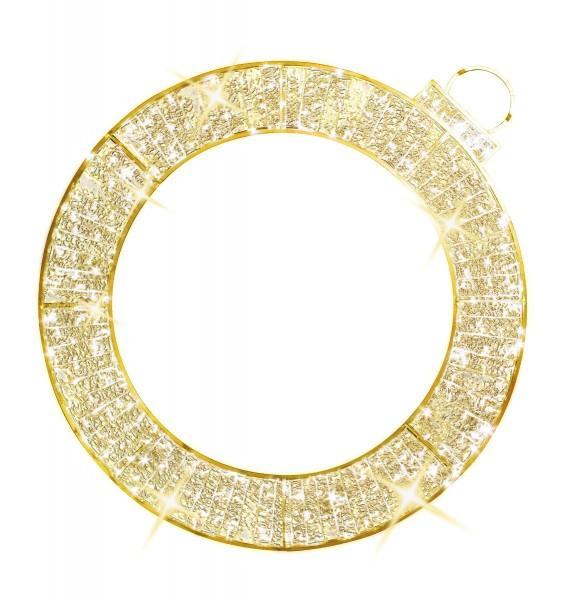 Illuminierter 2D-LED-Ring 'Waterloo' - 1 / 2 Stück