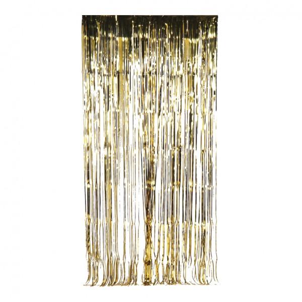 Fadenvorhang, 100x200cm, Metallfolie