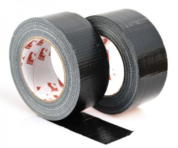 Scapa Gewebeklebeband, kunststoffbeschichtet, schwarz