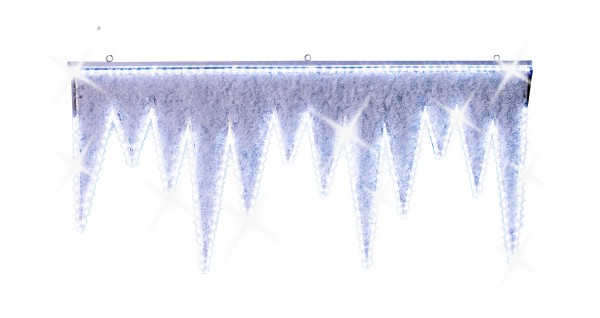 Illuminierte LED-Eizapfen 'Whitecourt' - 2 Stück