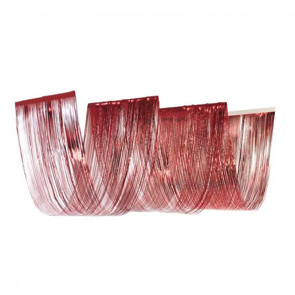 Wellenvorhang, 50x450cm, 3-fach, Metallfolie