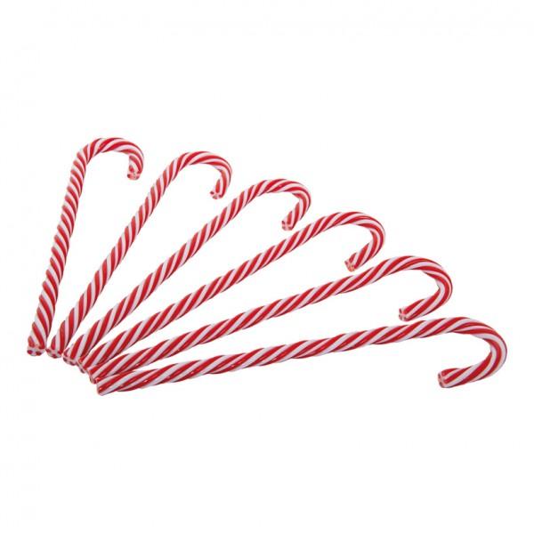Zuckerstange, 30cm, 6-fach, Kunststoff