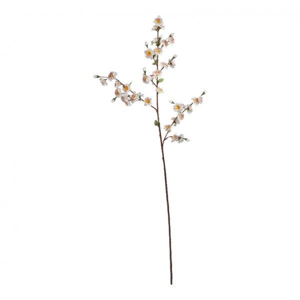 Pfirsichblütenzweig, 90cm, Kunstseide