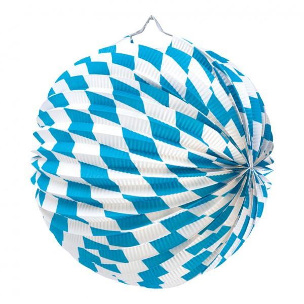 "Lampion ""Bavaria"", Ø 25cm, Papier, schwer entflammbar"