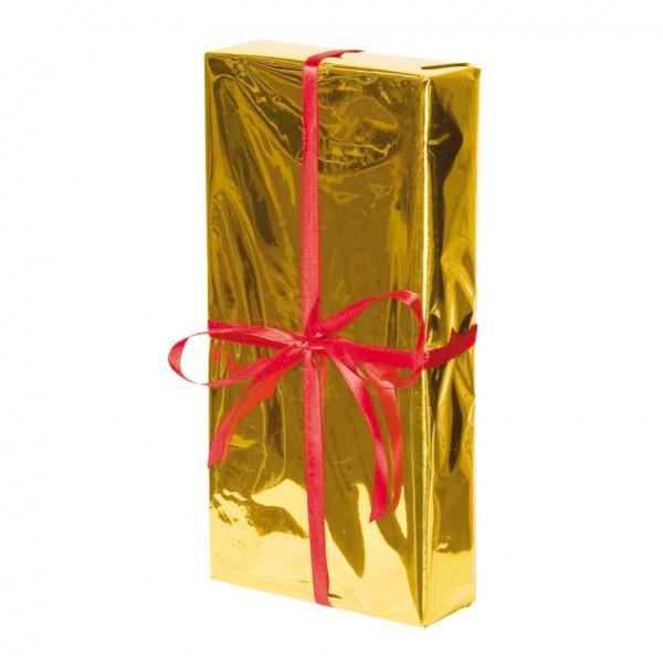 Geschenkpaket, 30x15x5cm, Styrofoam/Folie