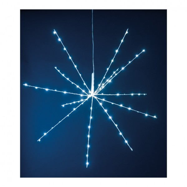 Mikro LED-Eiskristall, Ø 70cm 96 LEDs, 3,5V, IP44, 3m Zuleitung