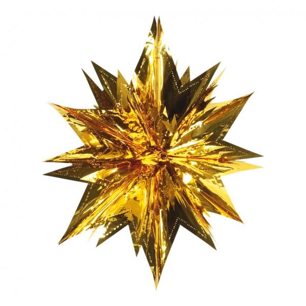 Stern, Ø 60cm, faltbar, Metallfolie