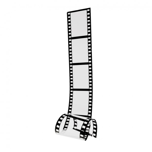 Filmstreifen, 140x30cm, Kunststoff