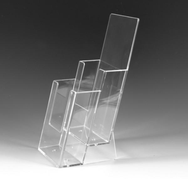 2-fach Tischprospektständer -Universum- DIN lang