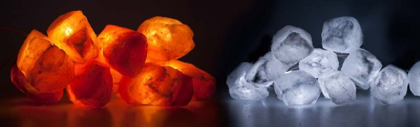 Himalaya Salt Stone Lichterkette - MUSTERKETTE