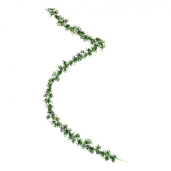 Buchsbaumgirlande, Ø 8cm, 270cm, Kunststoff