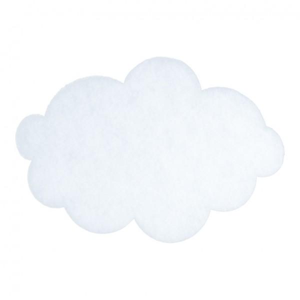 Wolke, 41x28cm, ohne Hänger, Vliesstoff, 2cm dick