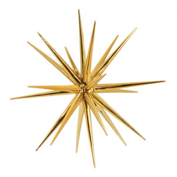 Sputnikstern, Ø 21cm, zum Zusammensetzen, aus Kunststoff, glänzend