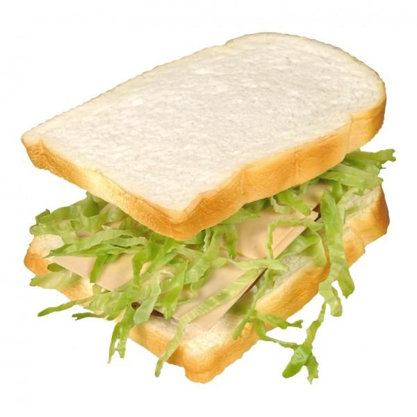 Sandwich, 15x12cm, Kunststoff