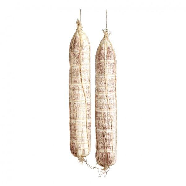 Salami, Ø 7cm, 45cm, 2Stck./Btl., im Netz, Kunststoff