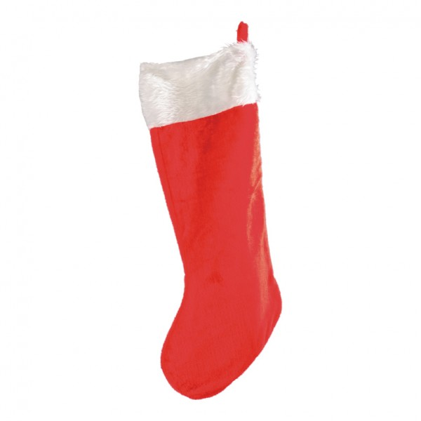 Weihnachtsmannsocke, 85cm, Plüsch