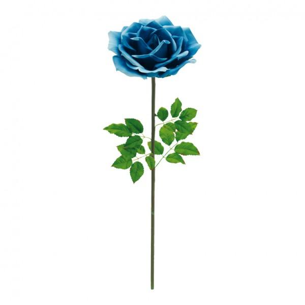Rose, Ø 37cm, 110cm, Kunstseide