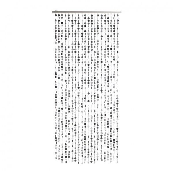 Folienplättchenvorhang, 80x170cm, Kunststoff