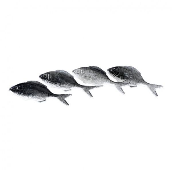 Sardinen, 4x12cm, 4Stck./Btl., Kunststoff