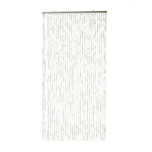 Plättchenvorhang, 90x180cm, 36 Abgänge, Kunststoff