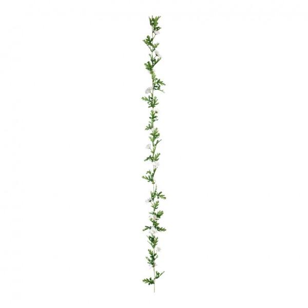 Margeritengirlande, Ø 13cm, 180cm, 14-fach, Kunstseide