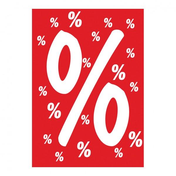 Plakat %-Zeichen, A1, Papier
