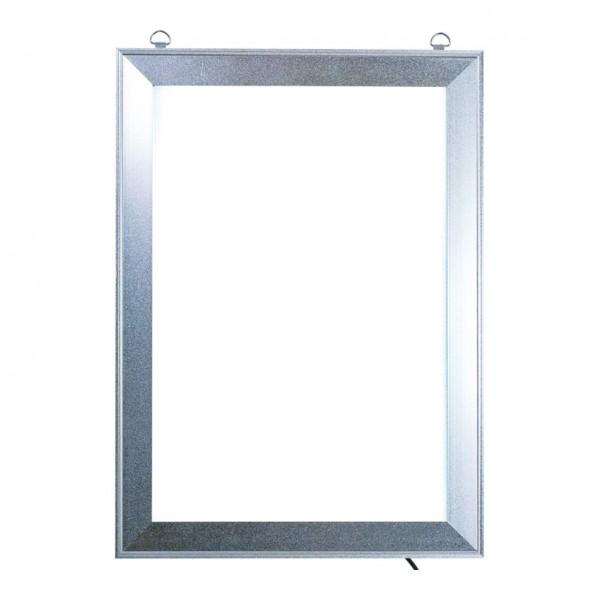 LED Klapprahmen, Maße innen: 26x38,5cm Maße außen: 33x45cm, DIN A3, vorne 4-fach zu öffnen, Hochfor