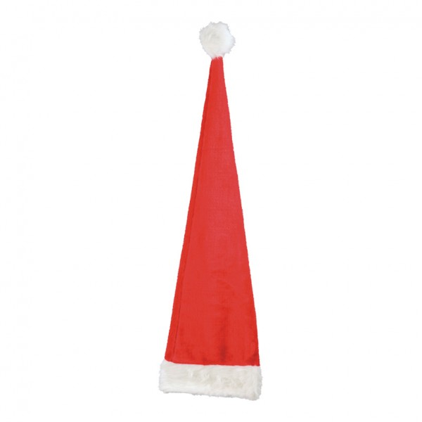 Weihnachtsmannmütze, 110cm, Plüsch
