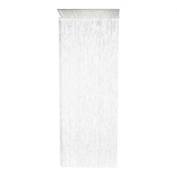 Plättchenvorhang, 100x250cm, 60 Stränge, Kunststoff