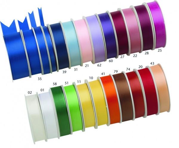 Visco Stoffband Seidenglanz - 40mm breit