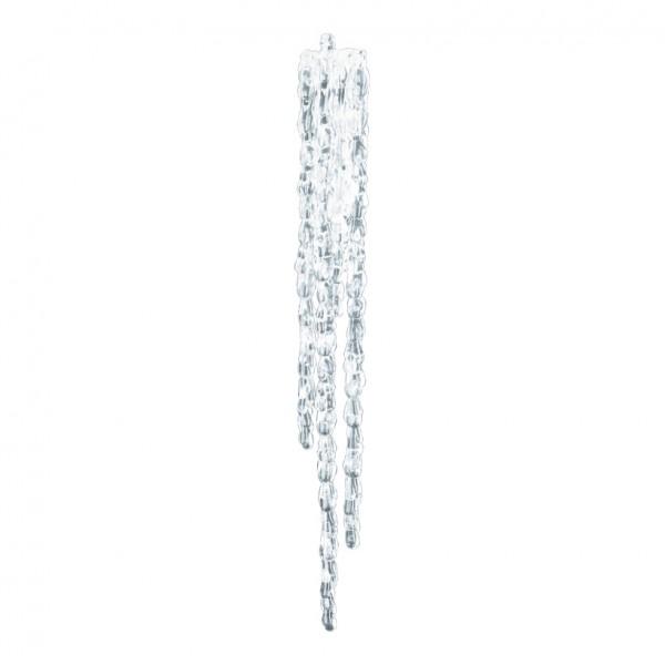 Eiszapfenhänger, 44x6cm, Kunststoff