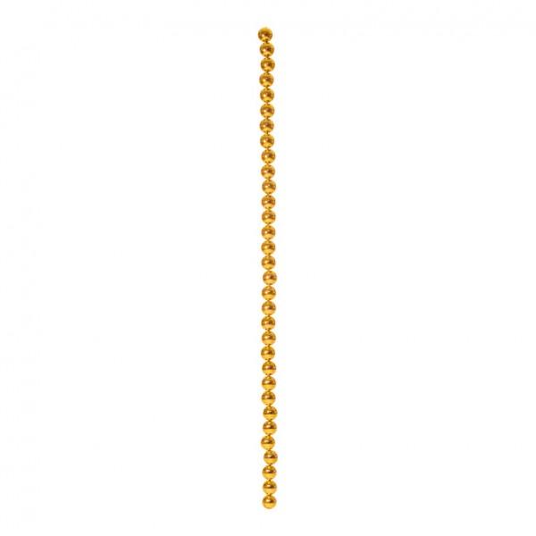 Kugelkette, 200cm, Ø 6cm, 32-fach, mit 2 Aufhängehaken, Kunststoff, Länge inkl. Haken