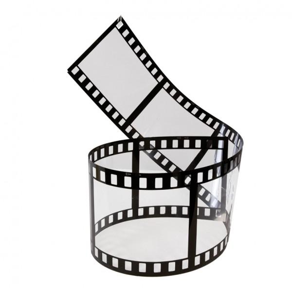 Filmstreifen, 140x19cm, Kunststoff