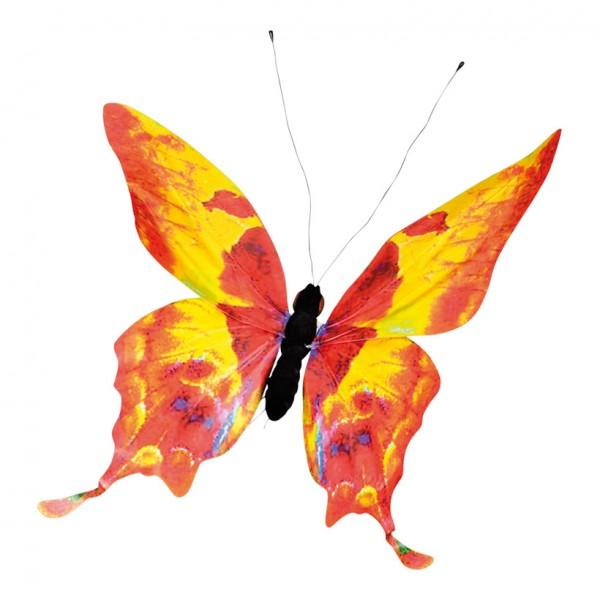 Schmetterling, 62x80cm, PVC-Folie, Styrofoam, Metall, wasserresistent