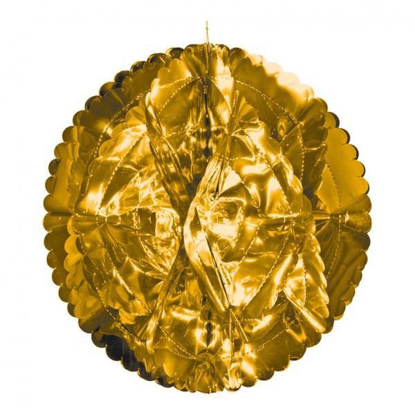 Folienkugel, Ø 60cm, faltbar, Metallfolie